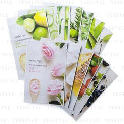 Innisfree - It's Real Squeeze 10-Piece Variety Mask Sheet