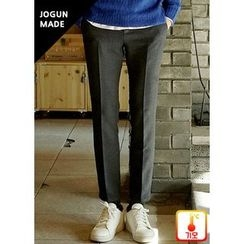 JOGUNSHOP - Plain Tapered Pants