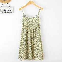 ninna nanna - Print Dress Strappy Dress