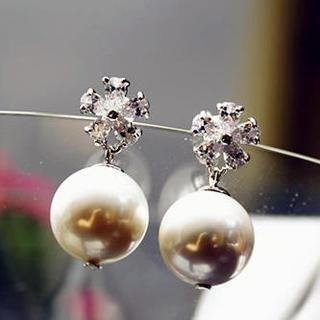 Gossip Girl - Faux-Pearl Earrings