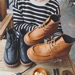 Hipsole - Lace-Up Ankle Snow Boots
