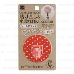 Kokubo - Reusable Adhesive Hook (#Red Pattern)