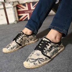 Easy Steps - 系带印花休闲鞋
