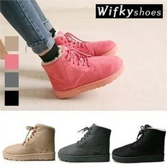 Wifky - Lace-Up Ankle Boots