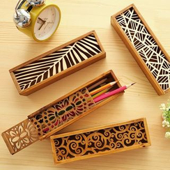 Class 302 - Cut Out Wooden Pencil Box