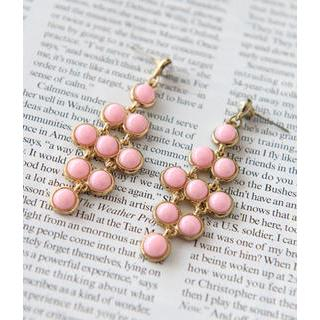 Petit et Belle - Beaded Drop Earrings