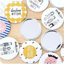 Good Living - Printed Pocket Mirror