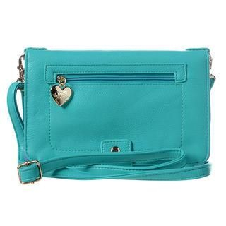 ans - Heart Charm Travel Wallet with Strap