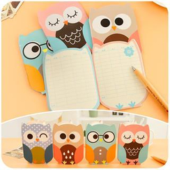 Cutie Bazaar - Owl Small Account Book