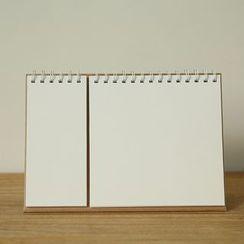 Paper House - Desktop Blank Notebook