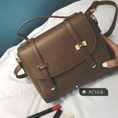 DAMENTO - Faux Leather Satchel