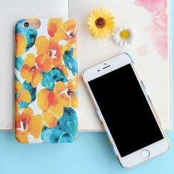 KANNITE - Floral Print Mobile Case - iPhone 6s / 6s Plus