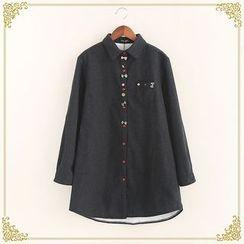 Fairyland - Embroidered Long Shirt
