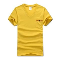 MR.PARK - Short-Sleeve Pocket-Front T-Shirt
