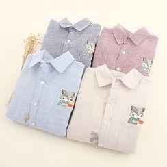 Fairyland - Embroidered Shirt