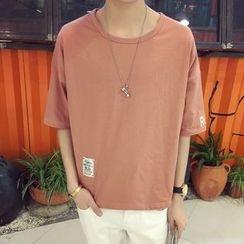 ZZP HOMME - Lettering Short-Sleeve T-Shirt