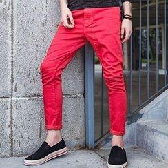 Dot2Dot - 窄身牛仔褲