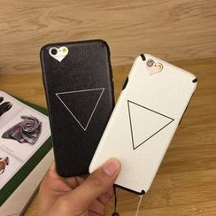 Stardigi - Triangle Print Phone Case with Neck Strap - Apple iPhone 6 / 6 Plus