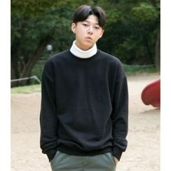 ABOKI - Color-Block Turtleneck Pullover