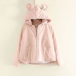 Mushi - Ear Hooded Jacket
