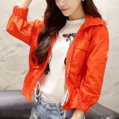 Cobogarden - Plain Hooded Jacket