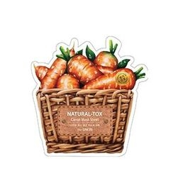 The Saem - Natural-Tox Carrot Mask Sheet 1pc