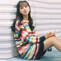 TIMI - Striped Long Sweater