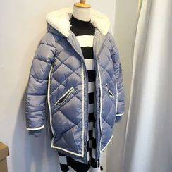 Kojasmine - Cotton Slim Zip Coat
