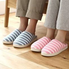 Lazy Corner - Striped Slippers