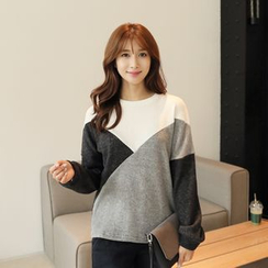 CLICK - Color-Block Sweater