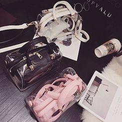 Youme - Transparent Boston Bag