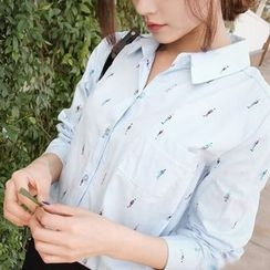 EFO - Long-Sleeve Printed Shirt