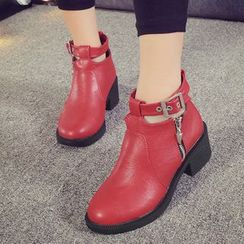 Yoflap - Strapped Short Boots