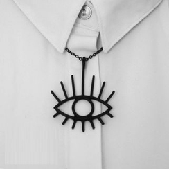 Zentangal - Eye Drop Necklace