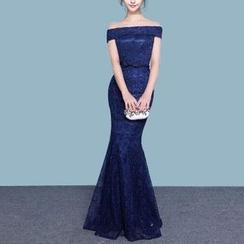 Bridal Workshop - 露肩鱼尾晚礼服