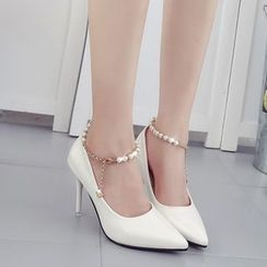 Wello - High Heel Pointy Pumps