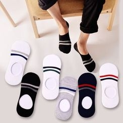 Ganki - Stripe No Show Socks