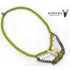 MIPENNA - 羊驼绒绒-颈链