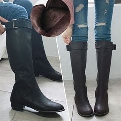 Reneve - Zip-Side Long Boots