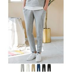 STYLEMAN - Drawstring-Waist Sweat Pants