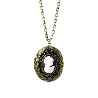 Anna Sui - Forbidden Affair Cameo necklace
