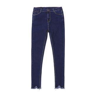 Hola - Fringed Skinny Jeans