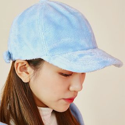 icecream12 - Faux-Fur Baseball Cap