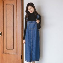 JUSTONE - Denim Long Jumper Dress
