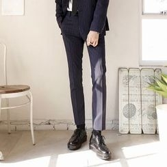 Seoul Homme - Stripe Dress Pants