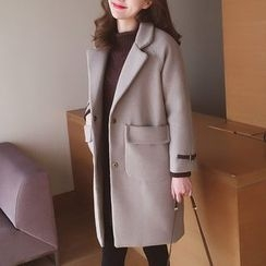 Cocofield - Woolen Long Coat