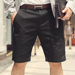 Mannmix - 纯色短裤