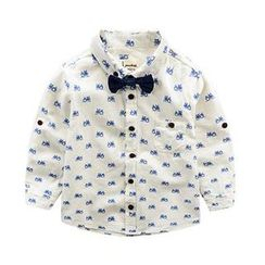 Kido - Kids Bike Print Shirt