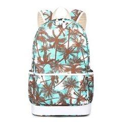 VIVA - Palm Tree Print Backpack
