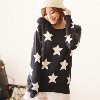 Tokyo Fashion - Star-Pattern Sweater